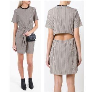 3.1 Phillip Lim Cotton & Silk Tie-Front Dress
